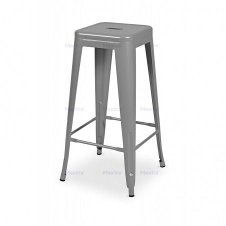 Krzesło kawiarniane PARIS inspirowane TOLIX hoker aluminium mat