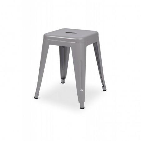 Krzesło kawiarniane PARIS inspirowane TOLIX taboret aluminium mat