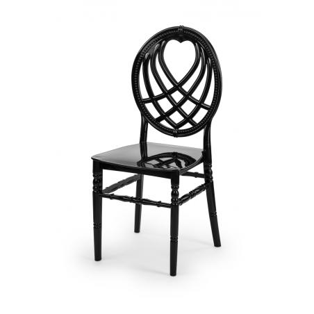 Krzesło ślubne CHIAVARI KING CZARNE