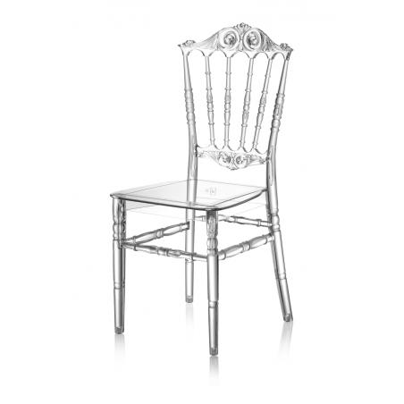 Krzesło ślubne CHIAVARI PRINCESS TRANSPARENTNE