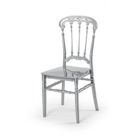 Krzesło ślubne CHIAVARI QUEEN SREBRNE