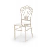 Krzesło ślubne CHIAVARI LORD PERŁOWE