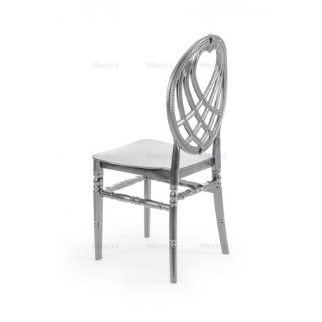 Krzesło ślubne CHIAVARI KING SREBRNE