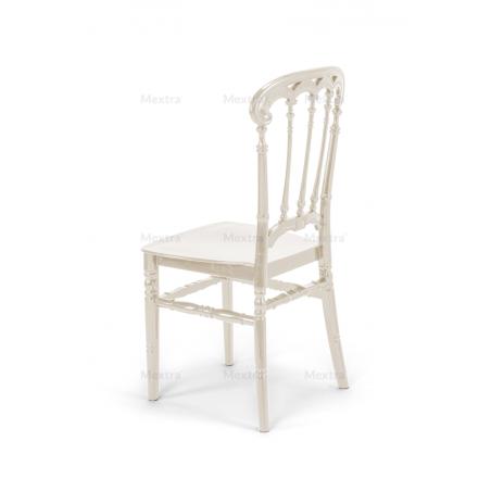 Krzesło ślubne CHIAVARI QUEEN PERŁOWE