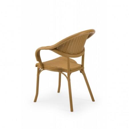 Krzesło do ogródków piwnych MARCO beżowy