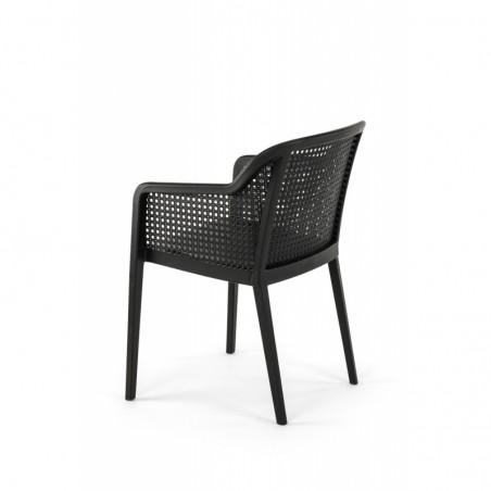 Krzesło do ogródków piwnych CARLO czarny
