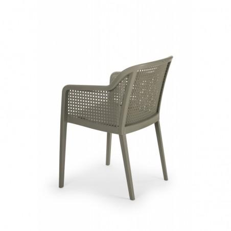 Krzesło do ogródków piwnych CARLO szary