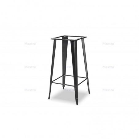 Stolik loftowy PARIS barowy 68x68cm 36mm