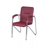 Krzesło konferencyjne SAMBA CR NA3608 bordo