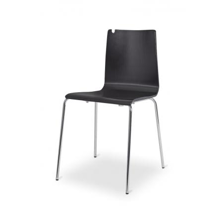 Krzesło sklejka LUNGO CR wenge