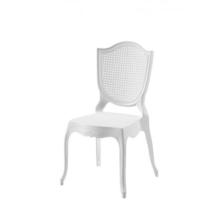Krzesło dla pary młodej AMOR białe