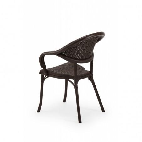 Krzesło MARCO brązowy - ogródki piwne