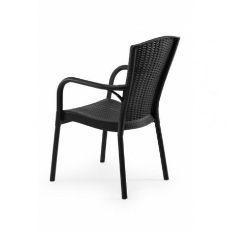 Krzesło ANDREA antracyt negra - ogródki piwne