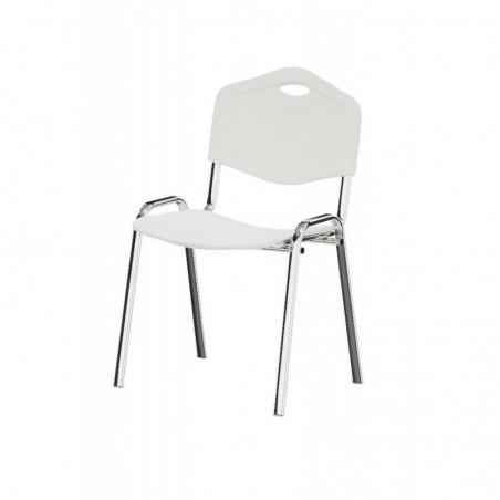 Krzesło konferencyjne ISO PLAST CR WHITE