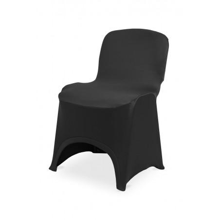 Pokrowiec na krzesło ISO SLIMTEX HIT czarny