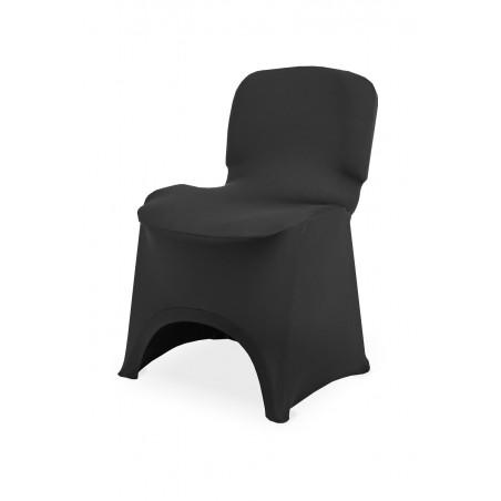 Pokrowiec na krzesło ISO SLIMTEX LUX czarny