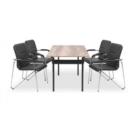 Zestaw mebli konferencyjnych - stół H-500, krzesło SAMBA