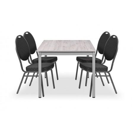 Zestaw mebli konferencyjnych - stół HUGO, krzesło HERMAN