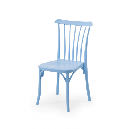 Krzesło kawiarniane PATYCZAK RETRO błękitne