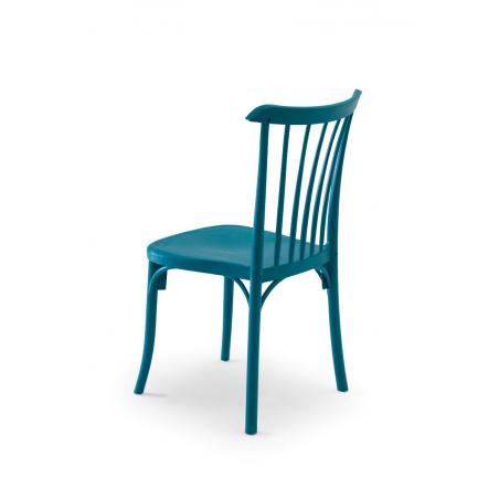 Krzesło kawiarniane PATYCZAK RETRO petrol