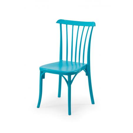 Krzesło kawiarniane PATYCZAK RETRO turkusowe