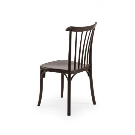 Krzesło kawiarniane PATYCZAK RETRO wenge