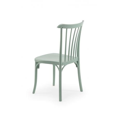Krzesło kawiarniane PATYCZAK RETRO zieleń Nilu