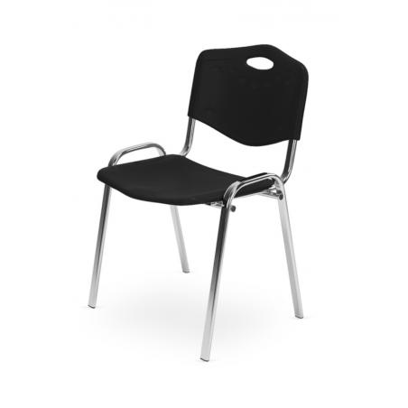 Krzesło konferencyjne ISO PLAST CR BLACK