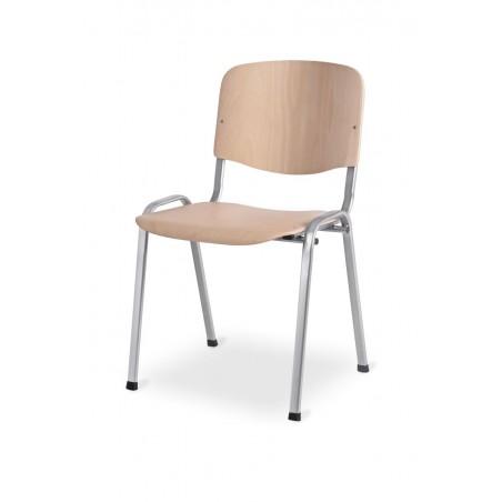 Krzesło konferencyjne ISO WOOD AL