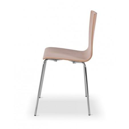 Krzesło sklejka LUNGO CR buk