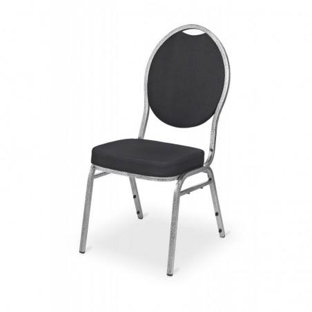 Krzesło bankietowe HERMAN DELUXE czarny