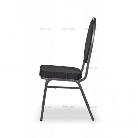 Krzesło bankietowe HERMAN czarne