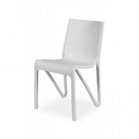 Krzesło kawiarniane BOOM białe