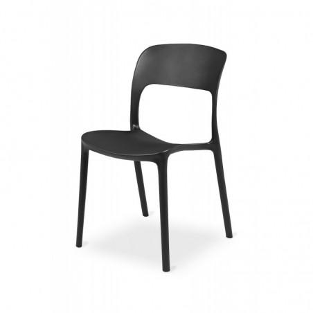 Krzesło kawiarniane HAVANA czarne