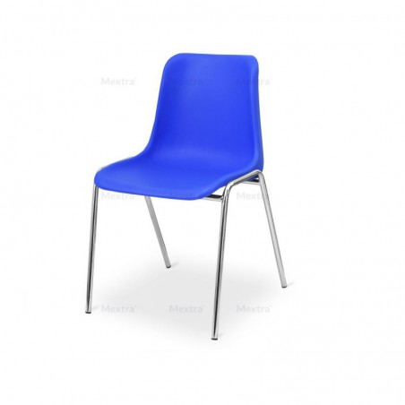 Krzesło konferencyjne MAXI CR niebieskie